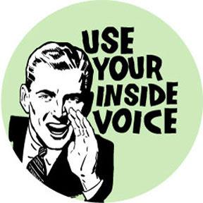 Clipart inside voices. Voice clip art free