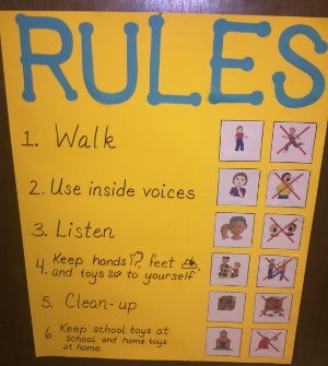Classroom rules tips for. Clipart inside voices