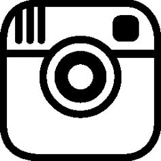 Clipart instagram png library Instagram clipart white - ClipartFest png library
