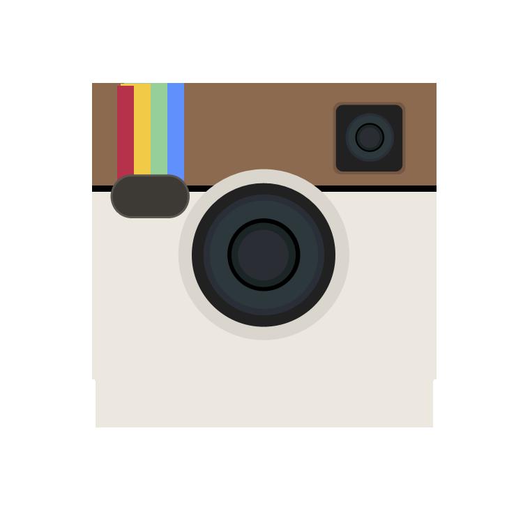 Instagram clipart vector