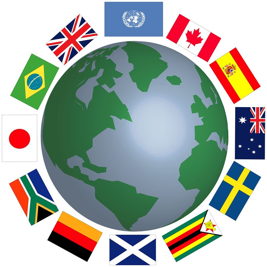 Clipart international flags banner royalty free Newly added content* This is a video of kids trying food from ... banner royalty free