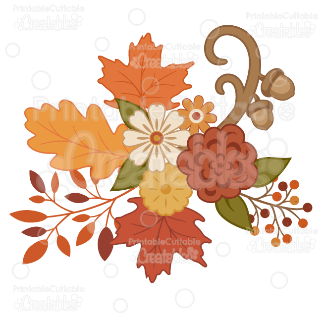 autumn flowers png library of thanksgiving clip transparent flowers png files