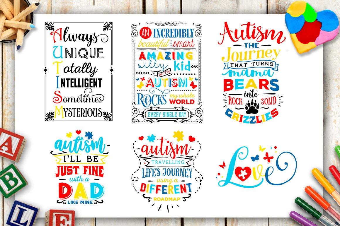 Clipart into svg clip art library stock Autism Bundle - 40 Autism SVG files Bundle Autism SVG file Cutting File  Clipart in Svg, Eps, Dxf, Png for Cricut & Silhouette clip art library stock