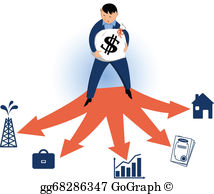 Clipart investments svg library library Investment Clip Art - Royalty Free - GoGraph svg library library