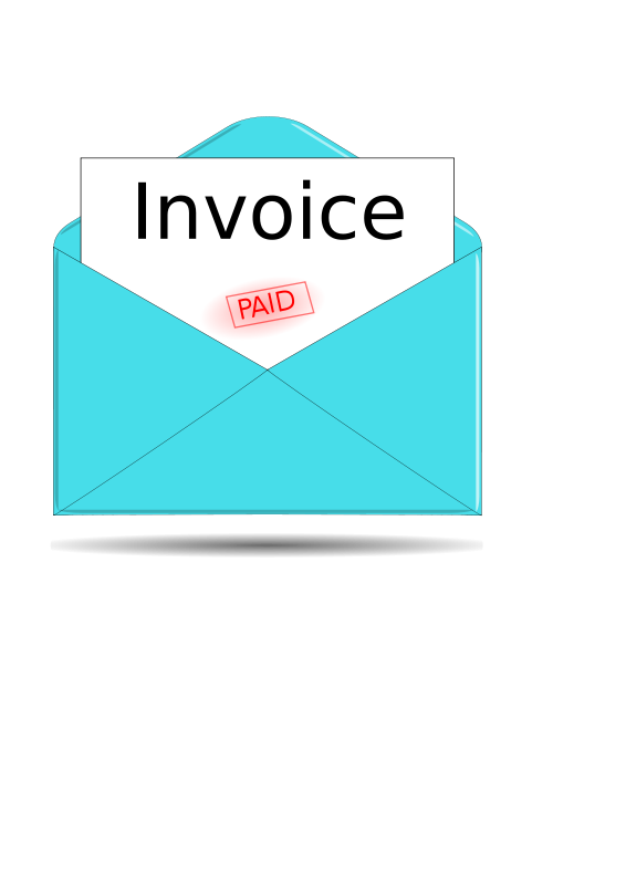 Clipart invoice banner black and white download Free Clipart: Invoice | kevie banner black and white download