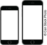 Clipart iphone 6 png library stock Iphone Stock Illustrations. 1,369 Iphone clip art images and ... png library stock