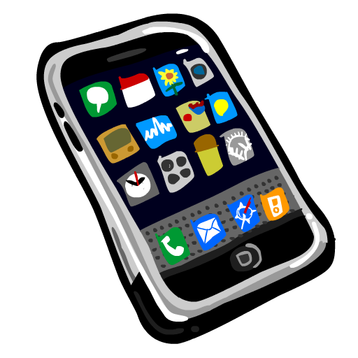 Google nexus clipart clip black and white IPhone Painted Icon, PNG ClipArt Image | IconBug.com clip black and white