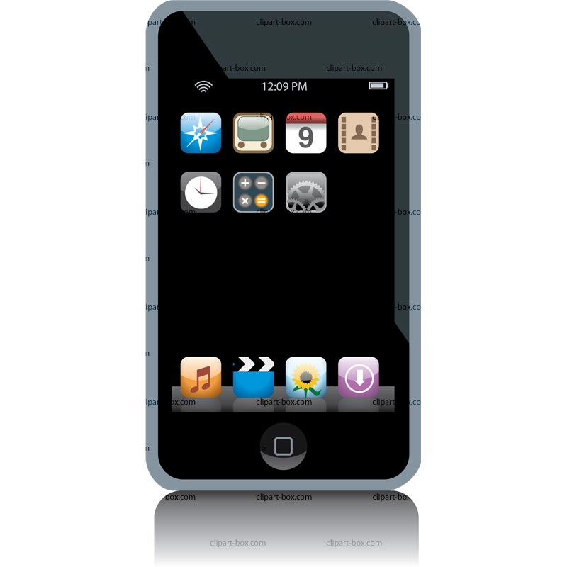 Ipod touch clipart image freeuse library Ipod Touch Clipart Clipart | Clipart Panda - Free Clipart Images image freeuse library