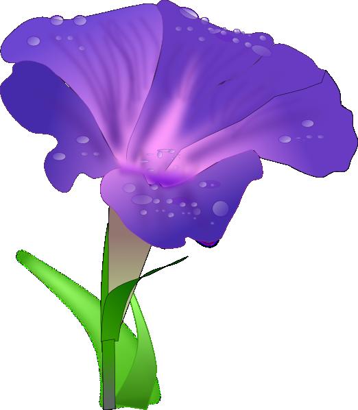 Clipart of iris flower