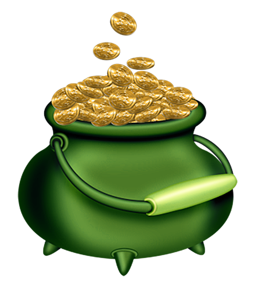 St Patricks Day Green Pot of Gold PNG Clipart   Irish   Pinterest ... banner library