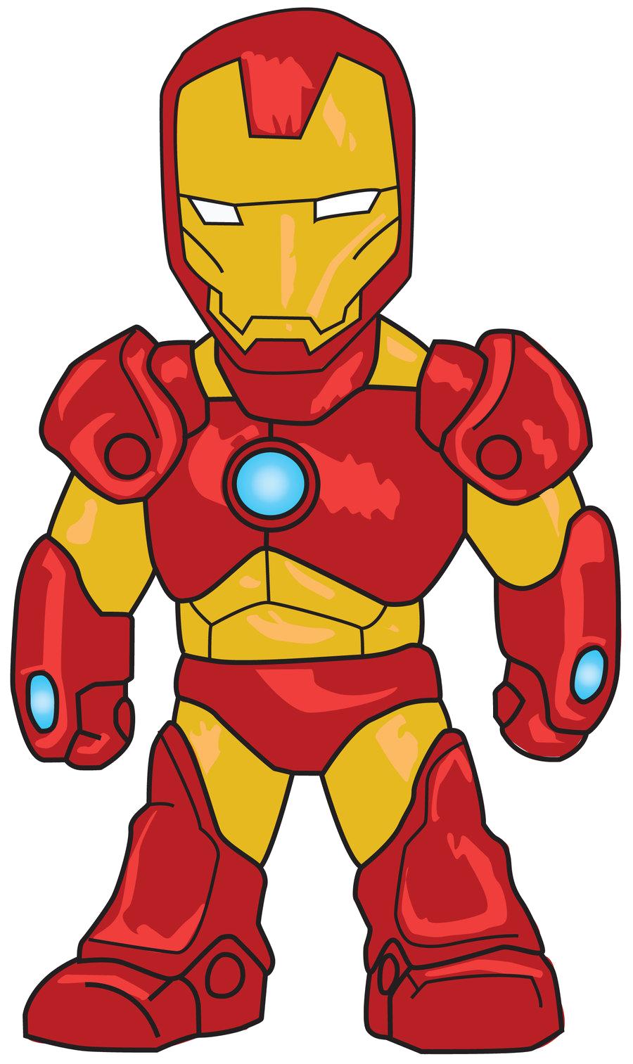 Ironman clipart graphic free stock Cartoon Iron Man Clip Art Png graphic free stock
