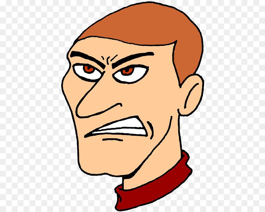 Clipart irritated image stock Man Cartoon clipart - Face, Hair, Nose, transparent clip art image stock