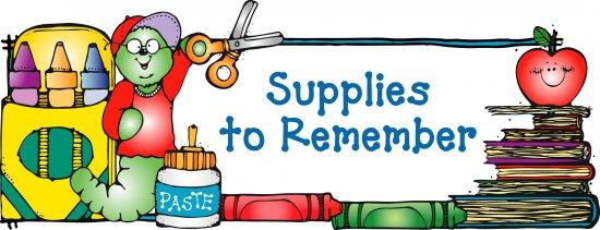 Clipart isd school supply list freeuse School Supply List for 2019-2020 – Tiffany Powell – Brownsboro ... freeuse
