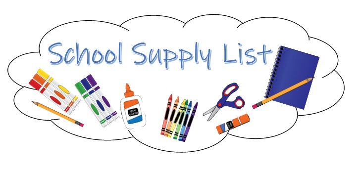 Clipart isd school supply list picture library Supply Lists - Gregory-Portland Independent School District picture library