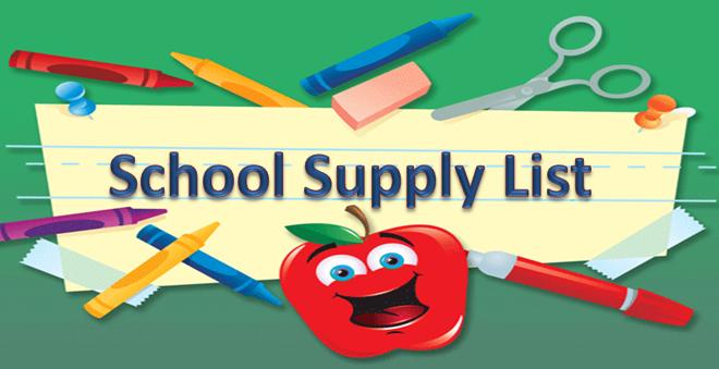 Clipart isd school supply list image freeuse library Free School Supplies Image, Download Free Clip Art, Free Clip Art on ... image freeuse library