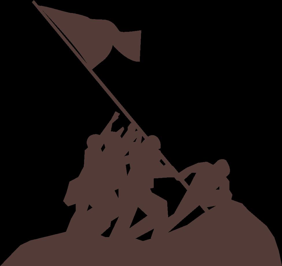 Clipart iwojima banner download Short Flavor History Description - Iwo Jima Silhouette Clipart ... banner download