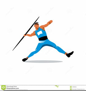 Javelin throw clipart jpg library download Javelin Thrower Clipart | Free Images at Clker.com - vector clip art ... jpg library download