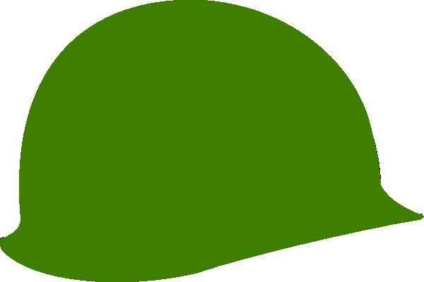 Vietnam war helmet clipart picture royalty free library Green Soldier Helmet Clip Art at Clker.com - vector clip art online ... picture royalty free library