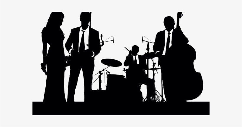 Png x . Free jazz big band clipart transparent background