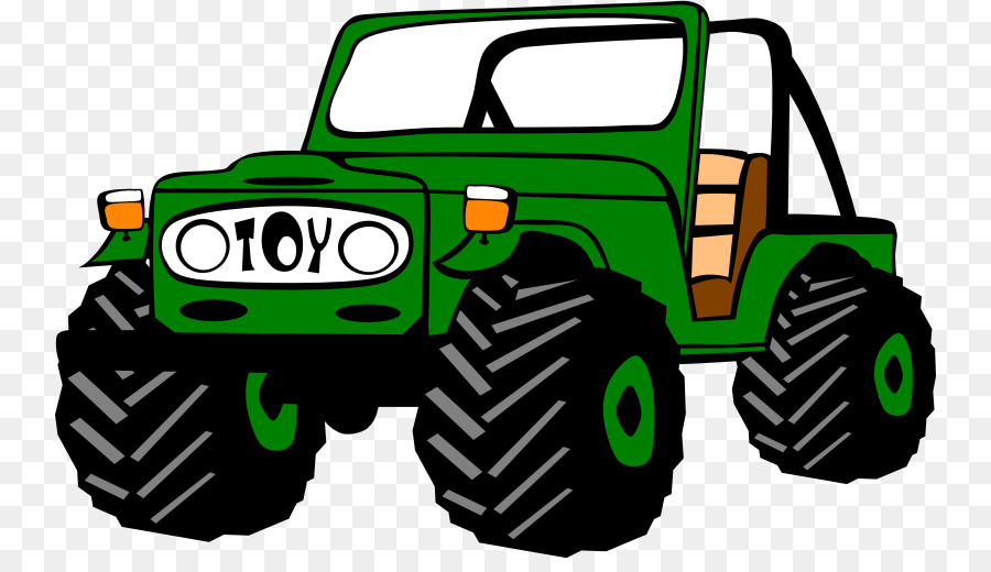 Clipart jeep image picture free Car Cartoon clipart - Jeep, Car, Yellow, transparent clip art picture free