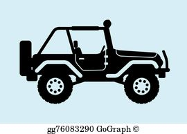 Clipart jeep image banner free Jeep Clip Art - Royalty Free - GoGraph banner free