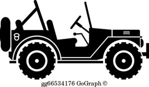 Clipart jeep image png free stock Jeep Clip Art - Royalty Free - GoGraph png free stock