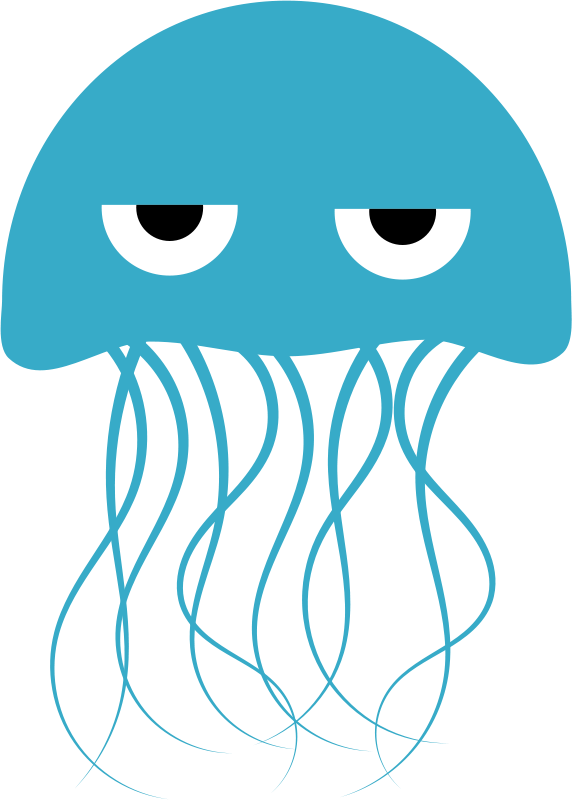 Jelly fish clipart