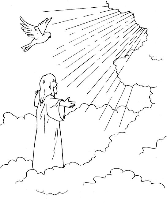 Clipart jesus ascending into heaven for kids svg library library Clipart jesus ascending into heaven for kids - ClipartFest svg library library