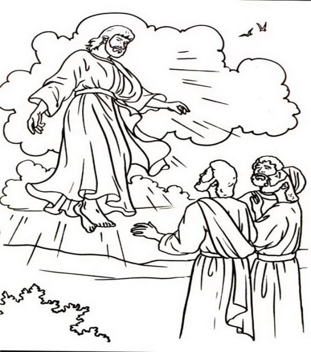 Clipart jesus ascending into heaven for kids jpg black and white 17 Best ideas about Ascension Of Jesus on Pinterest | Bible crafts ... jpg black and white