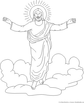 Clipart jesus ascending into heaven for kids picture transparent stock Clip Art Of Jesus Ascending Into Heaven Clipart - Clipart Kid picture transparent stock