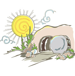 Clipart of resurrection clipart freeuse library Resurrection Clip-Art and Images for All Your Easter Season Needs ... clipart freeuse library