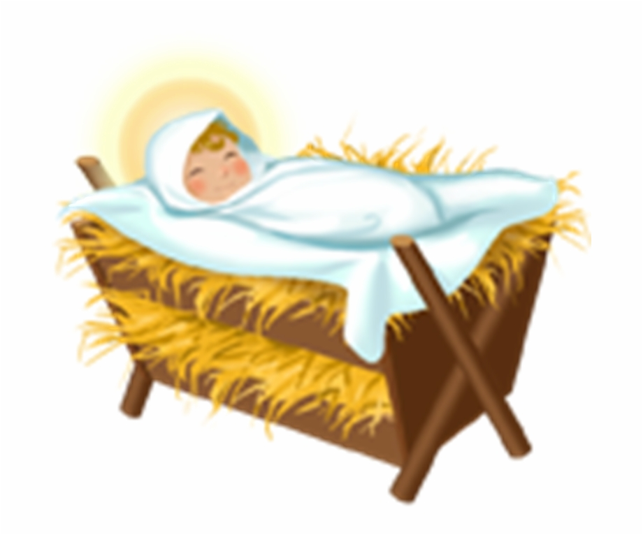 Clipart jesus manger clip art black and white Jesus Crib Png - Baby Jesus In A Manger Png Free PNG Images ... clip art black and white