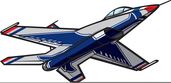 Clipart jets clip freeuse Cartoon Clipart Jet | Free Images at Clker.com - vector clip art ... clip freeuse