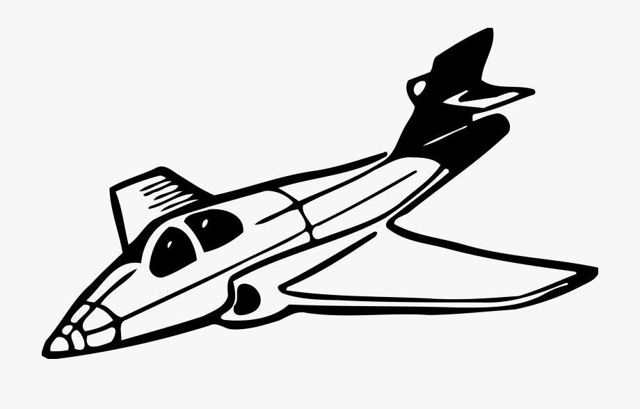 Jet clipart clip art black and white stock Jet Clipart Free - Jet Clipart Black And White, Cliparts & Cartoons ... clip art black and white stock