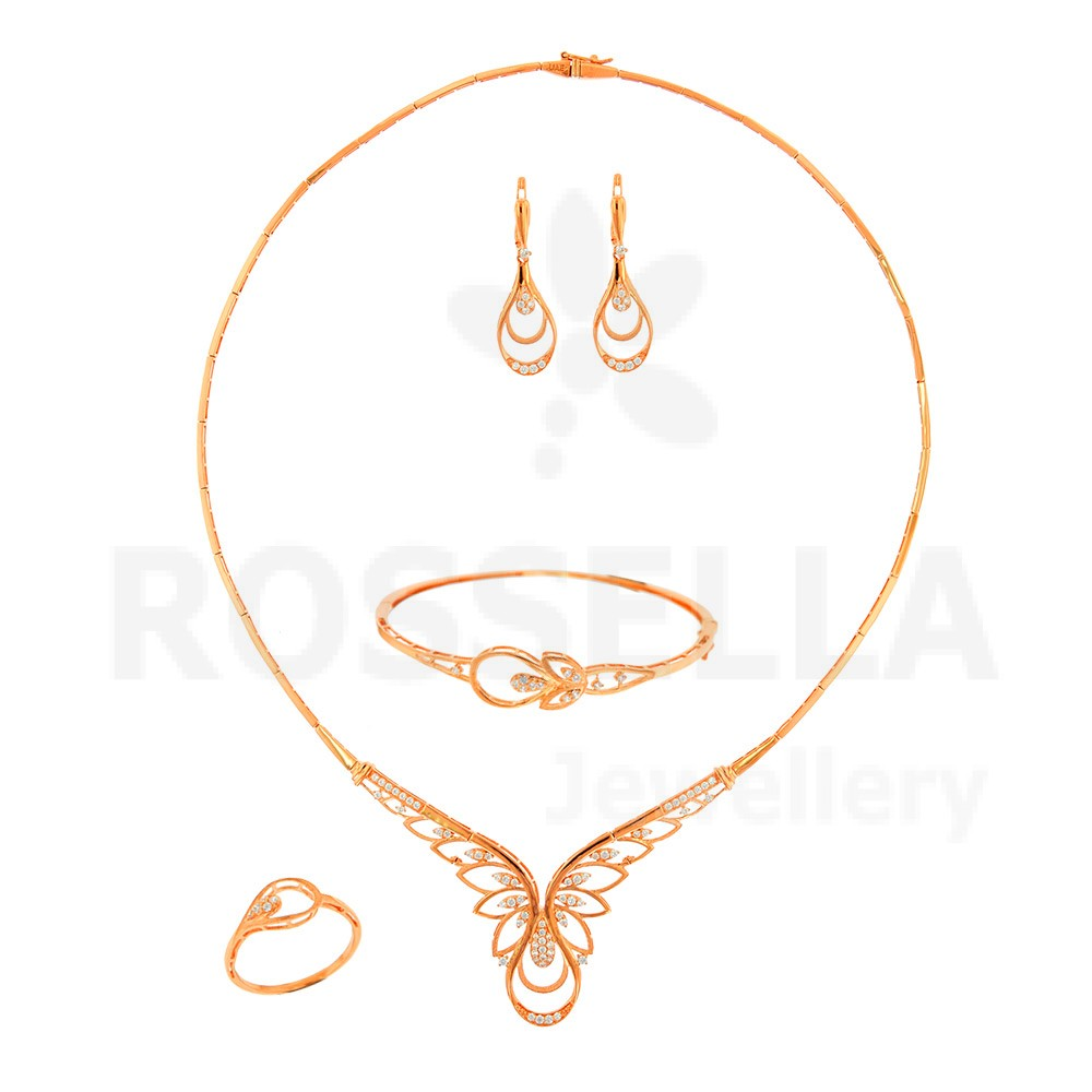 Clipart jewellers dubai location graphic royalty free download Rossella For Gold & Diamond Jewellery in Dubai - Set BS-B1218 - 21k ... graphic royalty free download