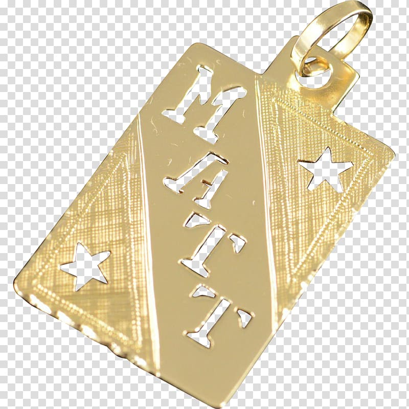 Clipart jewellers full name image free library Gold Charms & Pendants Jewellery 01504 Metal, name tag transparent ... image free library