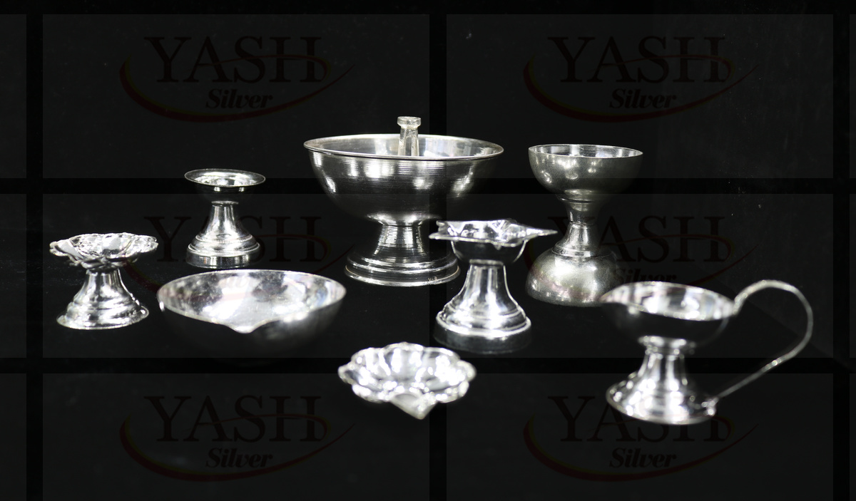 Clipart jewellers silver pooja items jpg royalty free Categories - Silver Jewelry - Yash Ornaments jpg royalty free