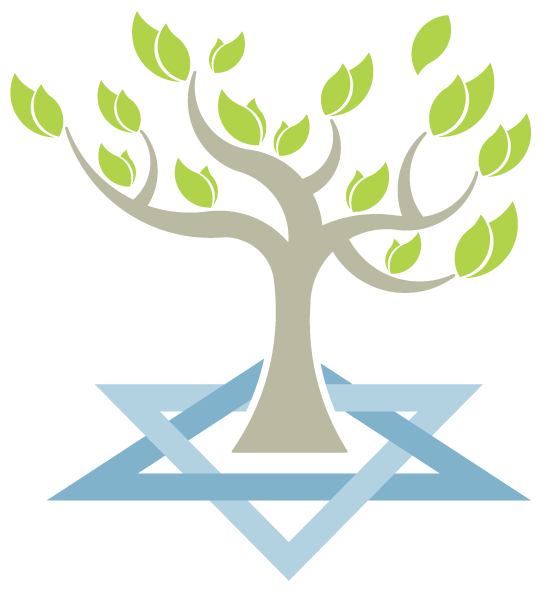 Clipart jewish star clip royalty free library adult-education-tree-growing-from-jewish-star | Congregation Etz Hayim clip royalty free library