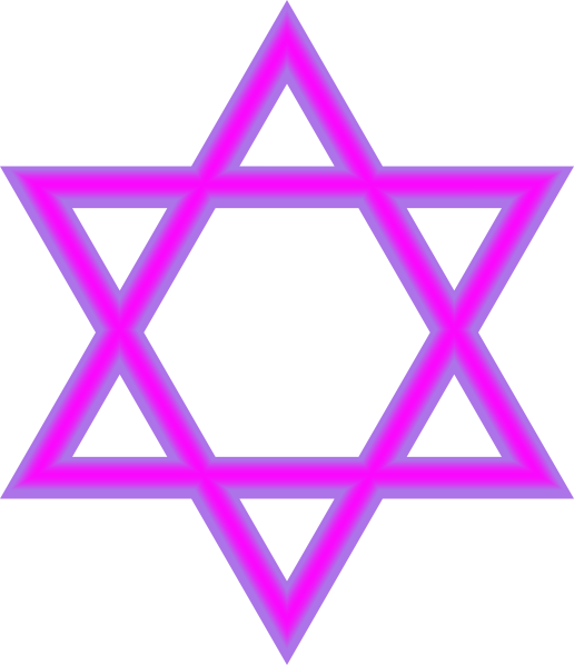 Jewish star clipart vector royalty free stock Jewish Star Purple Clip Art at Clker.com - vector clip art online ... vector royalty free stock