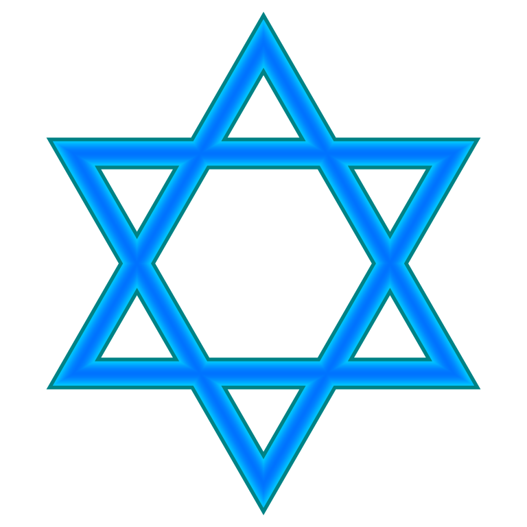 Solid star clipart jpg black and white Images Of Star Of David Group (78+) jpg black and white