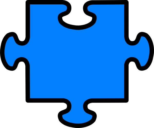 Looking for puzzle pieces clipart