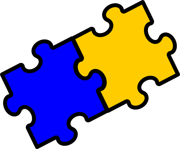 Clipart jigsaw pieces graphic free download Puzzle Pieces Clip Art at Clker.com - vector clip art online ... graphic free download