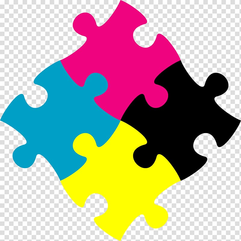Clipart jigsaw puzzle graphic royalty free library Four assorted-color puzzle piece illustration, Jigsaw Puzzles ... graphic royalty free library
