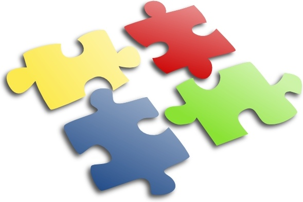 Clipart jigsaw puzzle svg transparent download Jigsaw Puzzle clip art Free vector in Open office drawing svg ( .svg ... svg transparent download