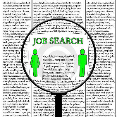 Clipart job search vector royalty free Job-hunting Clipart - Clipart Kid vector royalty free