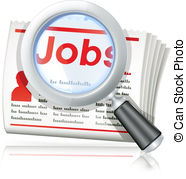 Clipart job search. Seeker clip art and