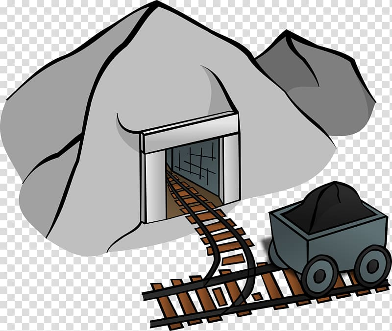 Clipart jobs in mining clip black and white Coal mining , others transparent background PNG clipart | HiClipart clip black and white