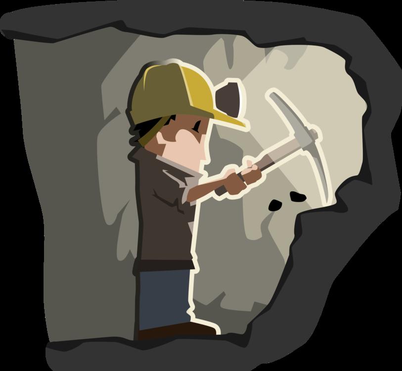 Clipart jobs in mining vector black and white stock Human Behavior,Cartoon,Headgear Vector Clipart - Free to modify ... vector black and white stock