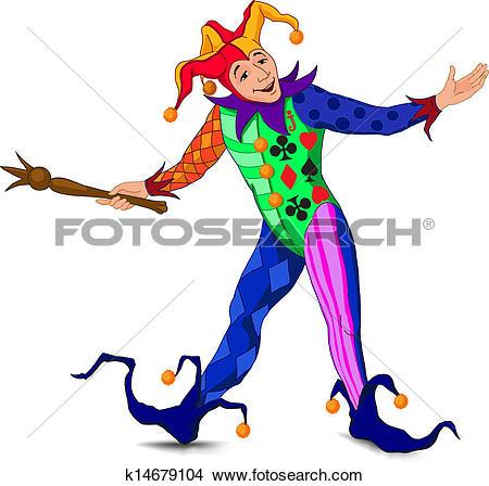 Clipart joker. Royalty free clip art