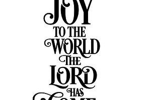 Clipart joy to the world the lord has come